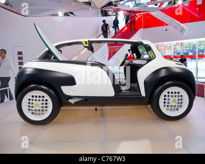 CITROËN LACOSTE concept car on show in Paris  France - Stock Photo