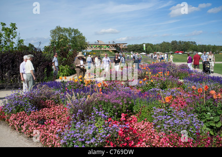 The Federal Horticultural Show or BUGA Bundesgartenschau held in Koblenz Germany 2011 - Stock Photo