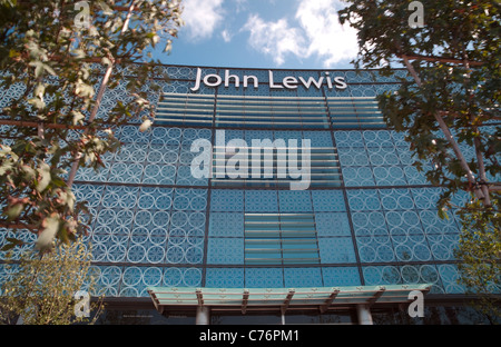 John Lewis Store at Westfield Stratford London - Stock Photo