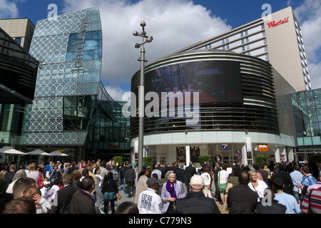 Westfield Stratford City shopping centre - Stock Photo