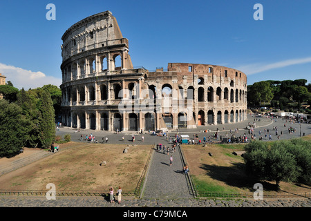 Rome. Italy. The Colosseum. - Stock Photo