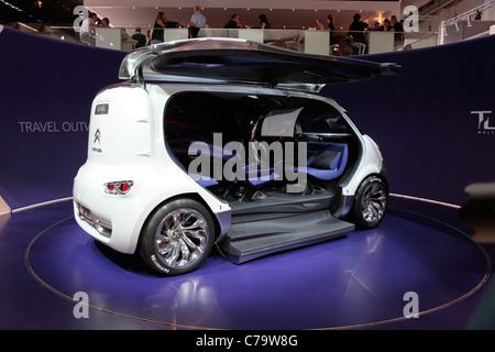 Citroen Tubik Concept Car on the IAA 2011 International Motor Show in Frankfurt am Main, Germany - Stock Photo
