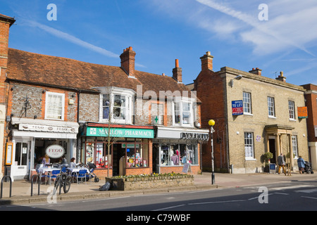High Street, Marlow, Buckinghamshire, England, UK - Stock Photo