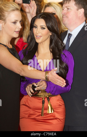 Kimberly 'Kim' Kardashian Humphries Keeping Up with the Kardashians model - Stock Photo