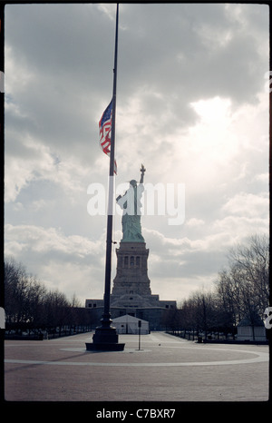 Statue of Liberty - The Ray of Hope - Stock Photo