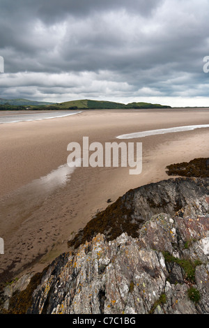 Portmeirion estuary in Wales - Stock Photo