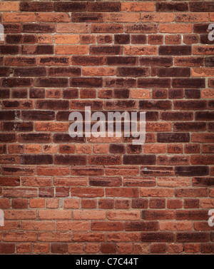 Old red brick wall texture background. High resolution high quality photo. - Stock Photo