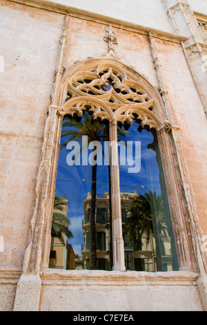 La Lonja monument in Palma de Mallorca from Majorca island in Balearic Spain - Stock Photo