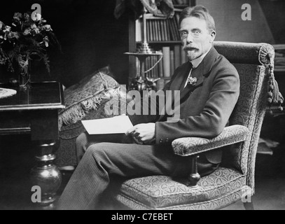 Danish physiologist August Krogh (1874 - 1949) - winner of the Nobel Prize in Physiology or Medicine in 1920. - Stock Photo