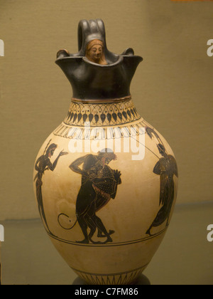 Greek Pottery In The British Museum In London England Stock Photo