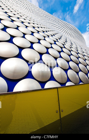 Exterior of the Selfridges building, The Bull Ring shopping center, Birmingham, UK - Stock Photo