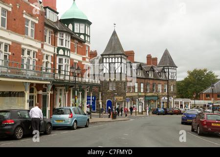 Station Crescent, Llandrindod Wells, Powys Wales UK. - Stock Photo