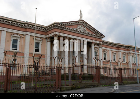 old crumlin road courthouse north belfast northern ireland - Stock Photo