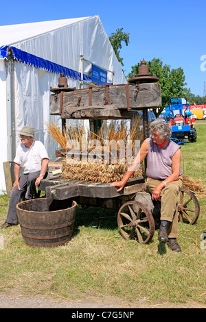 Traditional Cider makers display at the Somerset Agricultural show - Stock Photo