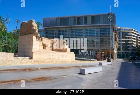 Museo Arqueológico y de Historia - Museum of Archaeology and History of Elche - Stock Photo