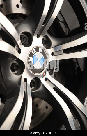 2011 BMW M5 saloon  the new M5 by BMW - Stock Photo