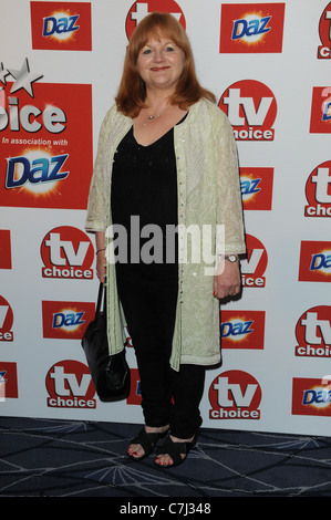 LESLEY NICOL TV CHOICE AWARDS 2011 THE SAVOY HOTEL THE STRAND LONDON ENGLAND 13 September 2011 - Stock Photo