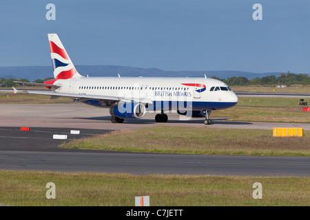 A BA aircraft, England - Stock Photo