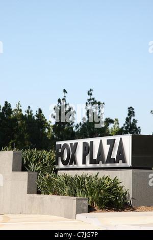 FOX PLAZA FOX STUDIOS LOS ANGELES CALIFORNIA USA 13 September 2011 - Stock Photo