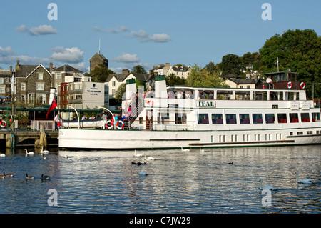 Lake District  Windermere Lake Cruises Passenger Cruiser