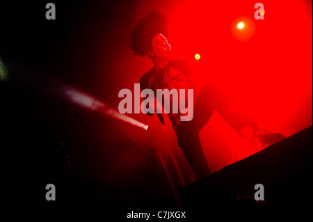 American rap rock band Hollywood Undead live at Sound Academy, Toronto, Canada on April 03, 2011 - Stock Photo