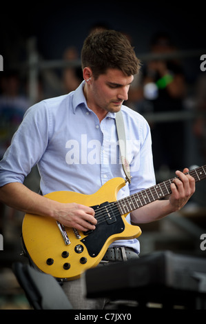 Hey Rosetta! Canadian indie rock band performs at Downsview Park on Canada Day, July 01, 2011 - Stock Photo
