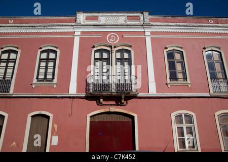 Portugal, Algarve, Silves, Colourful Architecture - Stock Photo