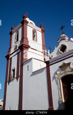 Portugal, Algarve, Silves, Cathedral Tower - Stock Photo