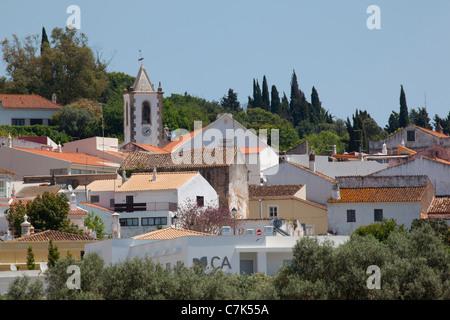 Portugal, Algarve, Pademe, View of Village - Stock Photo