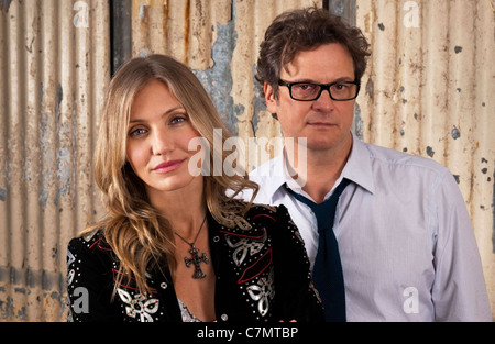 GAMBIT 2012 Crime Scene Pictures film with Cameron Diaz and Colin Firth - Stock Photo