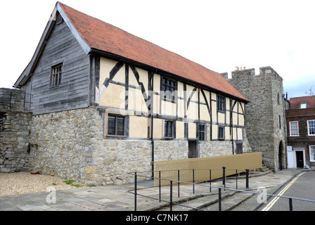 Tudor Merchants' Hall, Southampton, Hampshire, England - Stock Photo