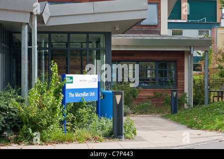 The Macmillan centre for cancer treatment at  West Suffolk Hospital in Bury St Edmunds - Stock Photo