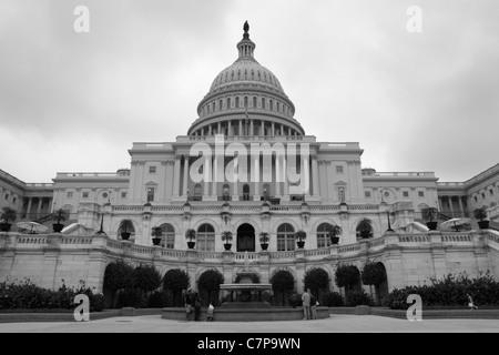 Capitol Building, Washington DC, USA - Stock Photo