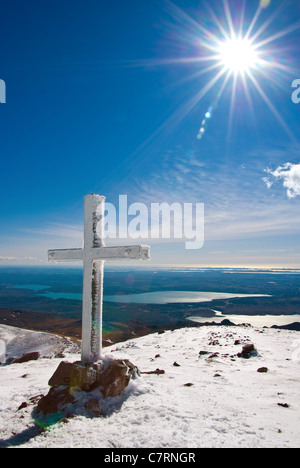 The most beautiful mountain in Croatia during the winter, mountain Velebit. - Stock Photo