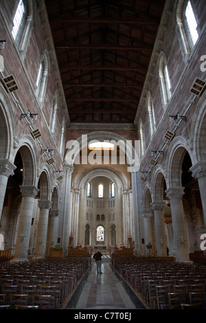 Interior of St Annes Cathedral, Belfast, Northern Ireland, UK. Belfast Cathedral, - Stock Photo