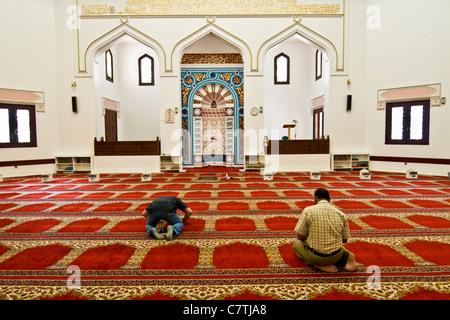 United Arab Emirates, Dubai, Bastakia quarter, the mosque - Stock Photo
