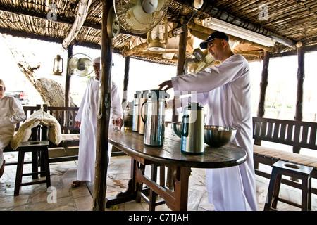 United Arab Emirates, Dubai, Bastakia quarter the local club - Stock Photo