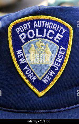 Port Authority Police New York New Jersey - Stock Photo