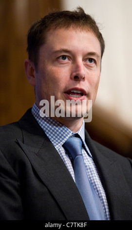 SpaceX and Tesla Motors CEO Elon Musk.  - Stock Photo