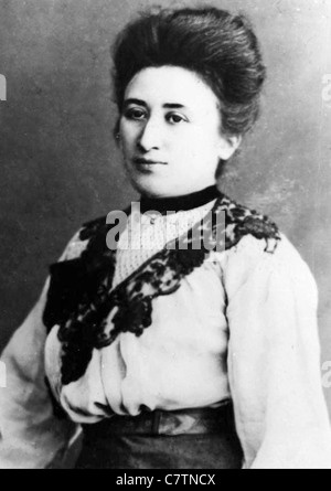 ROSA LUXEMBURG (1871-1919) Polish/German  Marxist theorist - Stock Photo
