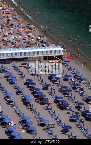 Italy, Campania, Amalfi Coast, Vietri sul Mare, beach - Stock Photo