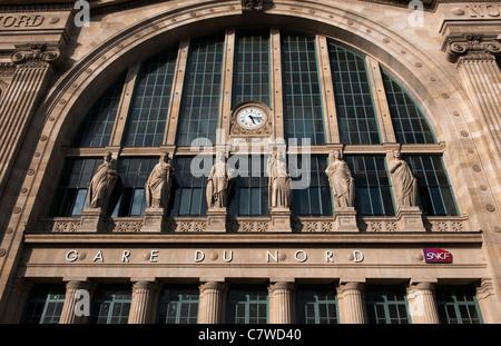gare du nord eurostar terminal paris stock photo royalty free image 25040986 alamy. Black Bedroom Furniture Sets. Home Design Ideas