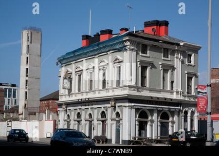 Baltic Fleet Pub, Liverpool, Merseyside, Liverpool England UK - Stock Photo