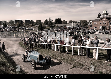 Brooklands Museum Bill Body tribute day 1/10/11 - Stock Photo