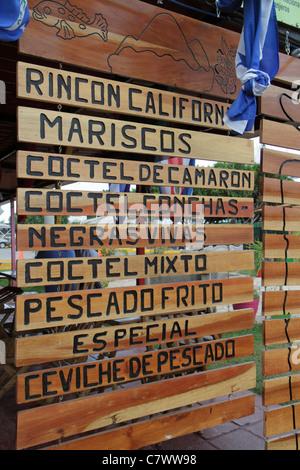 Managua Nicaragua El Malecon Puerto Salvador Allende Lake Xolotlan inland port recreational area Ricon California - Stock Photo