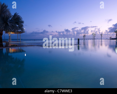 Cairns Esplanade Lagoon, Queensland Australia - Stock Photo