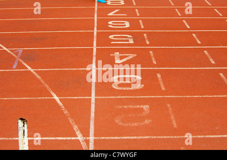 The race track - Stock Photo