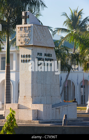 'Prince Henry the Navigator' Monument, Palacio de Gobierno, Dili, Timor-Leste (East Timor), Asia