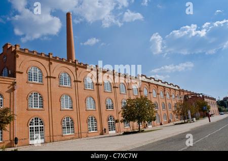 Old Ceramic Factory Building, Aveiro, Portugal. - Stock Photo