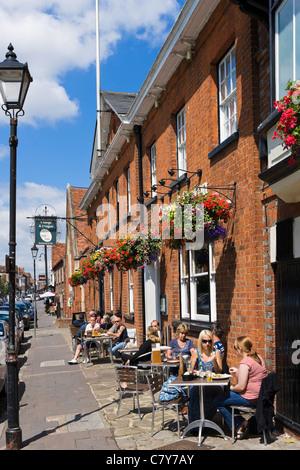 George and Dragon pub on the High Street, Marlow, Buckinghamshire, England, UK - Stock Photo